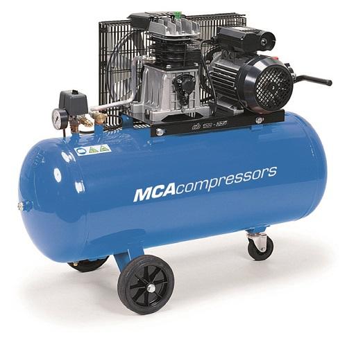 mca kompressor mk 100 4 4hk 3 fas 100l tank. Black Bedroom Furniture Sets. Home Design Ideas