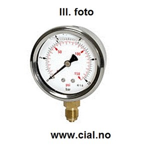 Manometer 0-2,5 bar